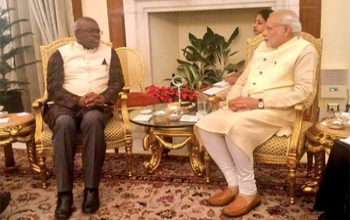 Bilateral Meeting between the Vice President and Prime Minister of India.