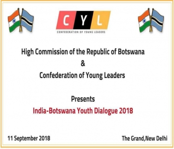 Botswana-India Youth Dialogue 2018